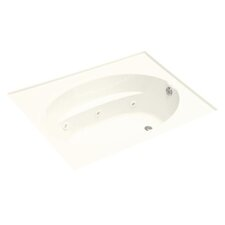 "<strong>Kohler</strong> Windward 72"" X 42"" Drop-In Whirlpool Bath with Custom Pump Location"