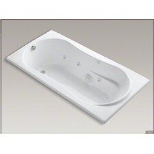 """7236 72"""" X 36"""" Drop-In Whirlpool Bath with Custom Pump Location"""