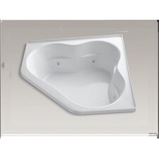 "<strong>Kohler</strong> Tercet 60"" X 60"" Whirlpool Bath with Tile Flange and Center Drain"