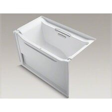 "Elevance Rising Wall 60"" X 34"" Alcove Bath with Right-Hand Drain"