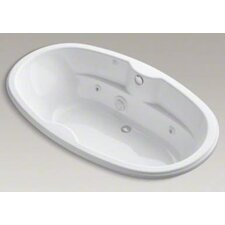 "<strong>Kohler</strong> Proflex Collection 72"" Drop In Jetted Whirlpool Bath Tub with Center Drain"