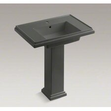 "Tresham 30"" Pedestal Lavatory with Single-Hole Drilling"