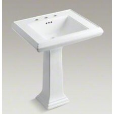 "Memoirs Classic 27"" Pedestal Lavatory with 8"" Centers"