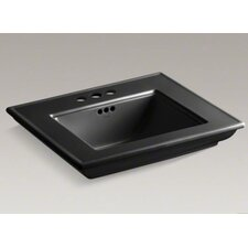 "Memoirs Stately Bathroom Sink Basin with 4"" Centerset Faucet Holes"