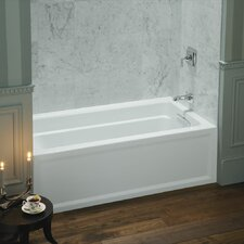"Archer 60"" X 32"" Alcove Bath with Integral Apron, Tile Flange and Right-Hand Drain"