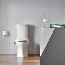 Persuade Curv Comfort Height Two-Piece Elongated Dual-Flush Toilet with Top-Mount Actuator