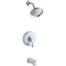 <strong>Kohler</strong> Fairfax Rite-Temp Pressure-Balancing Bath and Shower Faucet Trim, Valve Not Included
