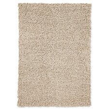 Wool Curly Beige Rug