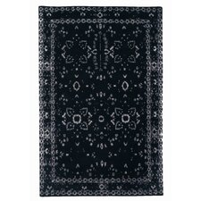 Furtive Persan Black Area Rug
