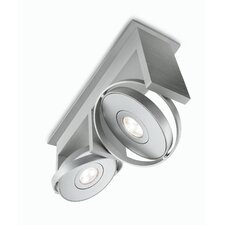 Orbit 2 Light Semi Flush Mount