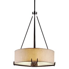 Urban Oasis 4 Light Drum Pendant