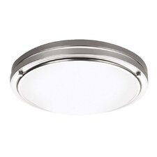 West End 2 Light Flush Mount