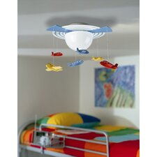 Kidsplace 1 Light Ceiling Lamp