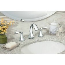 <strong>Moen</strong> Eva Widespread Bathroom Faucet with Two Handle S
