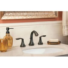Eva Widespread Bathroom Faucet with Two Handle S