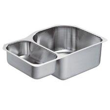 "1800 Series 30.25"" x 20"" Double Bowl Kitchen Sink"