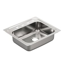 "<strong>Moen</strong> 2000 Series 30.25"" x 24"" Single Bowl Drop in Kitchen Sink"
