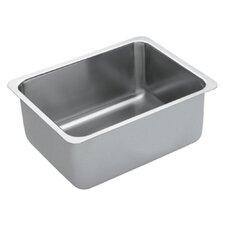 """1800 Series 23"""" x 18"""" Single Bowl Kitchen Sink"""