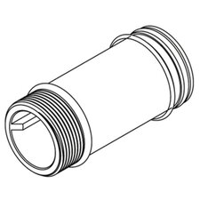 "Commercial 4-1/2"" Supply Extension Nipple"