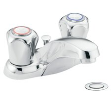 Chateau Centerset Bathroom Faucet with Cold and Hot Handles