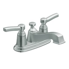 <strong>Moen</strong> Rothbury Centerset Bathroom Faucet with Double Handles