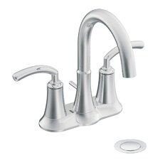 Icon Centerset Bathroom Faucet with Double Handles