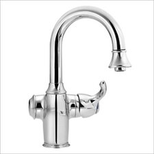 "Woodmere One Handle High Arc Pull Down Single Hole Mount Bar Faucet with 68"" Hose"