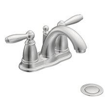 Brantford Double Handle Centerset Low Arc Bathroom Faucet
