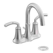 <strong>Moen</strong> Icon Two Handle Centerset High Arc Bathroom Faucet