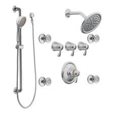 <strong>Moen</strong> Exacttemp Transfer Vertical Spa Set