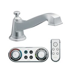 Rothbury Low Arc Roman Tub Faucet with Iodigital Technology