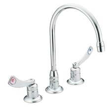 Commercial Widespread Bathroom Faucet with Cold and Hot Handles