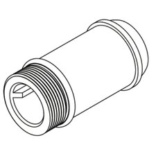 "<strong>Moen</strong> Commercial 2-1/4"" Delany Supply Extension Nipple"