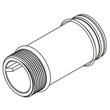 "Commercial 6"" Supply Extension Nipple"