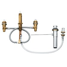 M-Pact Widespread Bidet Rough Valve