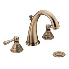 Kingsley Widespread Lavatory Faucet with Double Handles