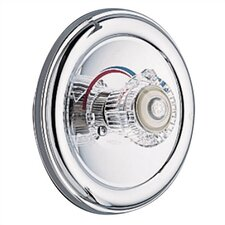 <strong>Moen</strong> Chateau Double Handle Wall Mount Roman Tub Faucet Acrylic Knob Handle