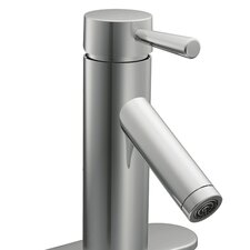 <strong>Moen</strong> Lever Single Hole Bathroom Faucet with Single Handle