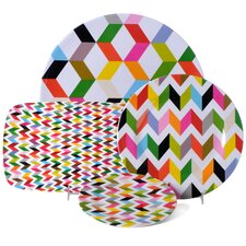 "Ziggy 11"" Dinner Plate (Set of 4) (Set of 4)"