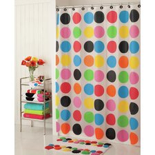 PEVA Multi Dot Shower Curtain