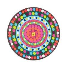 "Bindi 15.5"" Round Serving Platter"