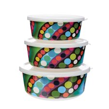 Bindi 3-Piece Storage Container Set