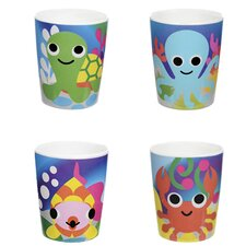 Ocean 4 Piece Kids Cup Set