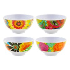 Floral Mini Bowl (Set of 4)