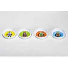 Robot Kids Bowls (Set of 4)