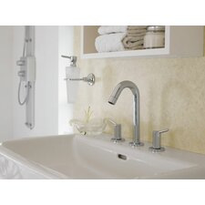 <strong>Hansgrohe</strong> Talis Widespread Bathroom Faucet with Double Handles