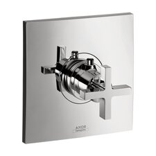 <strong>Hansgrohe</strong> Axor Citterio Thermostatic Trim with Cross Handle