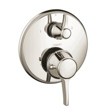 <strong>Hansgrohe</strong> Metris C Thermostatic Trim with Volume Control