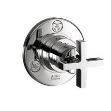 <strong>Hansgrohe</strong> Axor Citterio Trio and Quattro Trim with Cross Handle