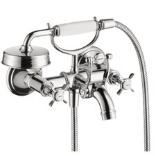 <strong>Hansgrohe</strong> Axor Montreux Wall Mounted Tub Filler with Cross Handle